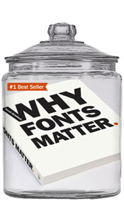 Sarah Hyndman is an author, she's written Why Fonts Matter and How to Draw Type and Influence People